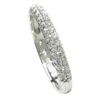 Ponte Vecchio diamond ring, ring K18 white gold Lady's upup7