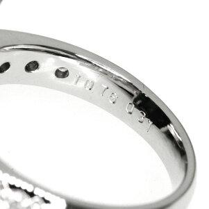10.76ctグリーントルマリン/ダイヤモンドリング・指輪プラチナPT90010.9gレディース【】
