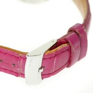 LOUISVUITTON【ルイ・ヴィトン】Q121Cタンブール腕時計ステンレススチール/革レディース【】