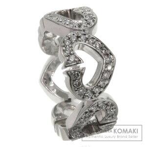 CARTIER【カルティエ】Cハート/ダイヤモンドリング・指輪K18ホワイトゴールドレディース【】