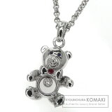 Chopard【Sho Pearl】 Bare/Happy diamond/Sapphire/Ruby Necklace K18White Gold Women Second hand