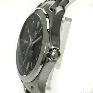 TAGHEUER【タグホイヤー】WJF2112リンク腕時計OH済SS/アリゲーターメンズ【】