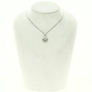 1.96ctダイヤモンドネックレスプラチナPT850/Pt9009.5gレディース【】