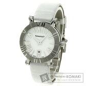 TIFFANY&Co.【ティファニー】 アトラス 腕時計 ステンレススチール/革 レディース 【中古】