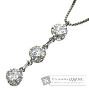 0.349ctダイヤモンドネックレスプラチナPT8503.3gレディース【】