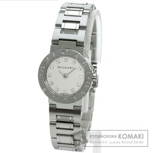 BVLGARI【ブルガリ】BB26SS/12ブルガリブルガリ12Pダイヤモンド腕時計ステンレススチールレディース【】