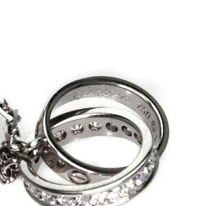 CARTIER【カルティエ】ベビーラブリングダイヤモンドネックレスK18ホワイトゴールドレディース【】