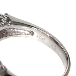 1.43ctピンクサファイア/ダイヤモンドリング・指輪プラチナPT9008.2gレディース【】