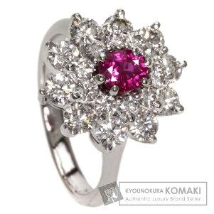0.46ctルビー/ダイヤモンドリング・指輪プラチナPT9007gレディース【】