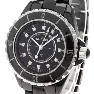 CHANEL【シャネル】J1212Pダイヤモンド腕時計セラミック/セラミックレディース【】