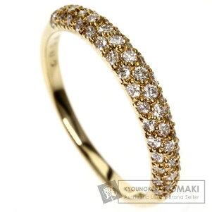 0.54ctダイヤモンドリング・指輪K18イエローゴールド2.6gレディース【】