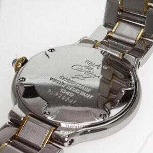 CARTIER【カルティエ】マスト21コンビ腕時計ステンレススチール/GPレディース【】