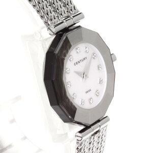 CENTURY【センチュリー】プライムタイム腕時計ステンレス/SSレディース【】