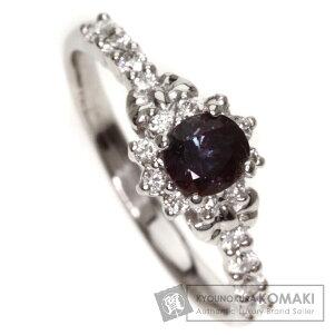0.36ctアレキサンドライト/ダイヤモンドリング・指輪プラチナPT9003.6gレディース【】