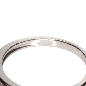 0.11ctダイヤモンドリング・指輪K18ホワイトゴールド1.7gレディース【】
