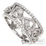 TIFFANY&Co.エンチャントスクロールバンドダイヤモンドリング・指輪プラチナPT950レディース【中古】【ティファニー】