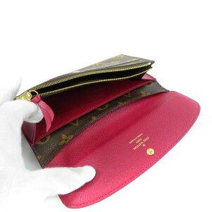 LOUISVUITTONポルトフォイユエミリー長財布(小銭入れあり)モノグラムキャンバスレディース【】【ルイ・ヴィトン】