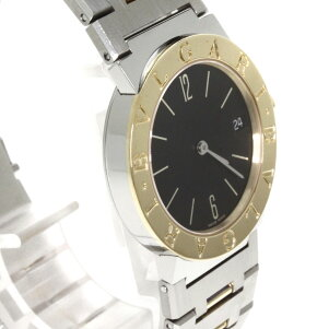 BVLGARIBB30SGDブルガリブルガリ腕時計K18YG/SSボーイズ【】【ブルガリ】