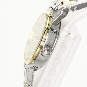 HERMESCL4.220クリッパー腕時計GP/SSレディース【】【エルメス】
