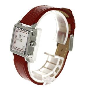 LOUISVUITTONQ32MOAアンプリーズPM腕時計ステンレス/レザーレディース【】【ルイ・ヴィトン】