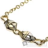 BVLGARI Natural Necklace K18Yellow Gold/K18WG Ladies [Pre] [Bulgari]