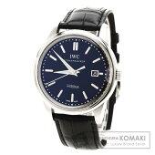IWCIW323301 ヴィンテージ インヂュニア シースルーバック 腕時計 ステンレス/クロコダイル メンズ 【中古】【インターナショナルウォッチカンパニー】