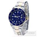 ROLEX16613 サブマリーナ 腕時計 OH済 K18イエローゴールド/SS メンズ 【中古】【ロレックス】