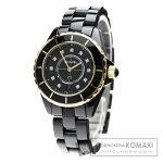 CHANEL H2543 J12 33 11Pダイヤモンド 腕時計 セラミック レディース 【中古】【シャネル】