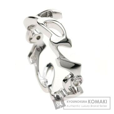 CARTIER シグネチャー ダイヤモンド リング・指輪 K18ホワイトゴールド レディース 【中古】【カルティエ】
