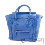 CELINE Luggage nano 2WAY Handbag Leather Ladies [Pre] [Celine]