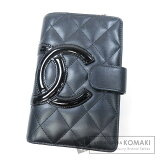 Chanel CAMBON LINE wallet�?? There is Coin Pocket�?? Leather Ladies 【second hand】【CHANEL】