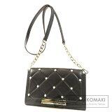 Kate Spade Chain Wallet Shoulder Bag Leather Ladies 【second hand】【kate spade】