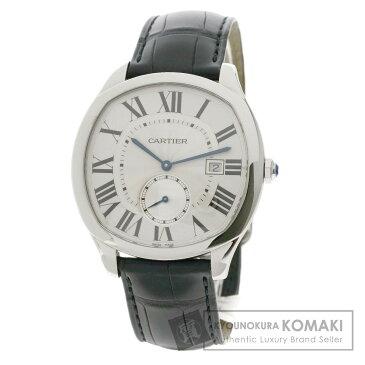 カルティエ WSNM0004 ドライブ ドゥ カルティエ 腕時計 ステンレススチール/革 メンズ 【中古】【CARTIER】