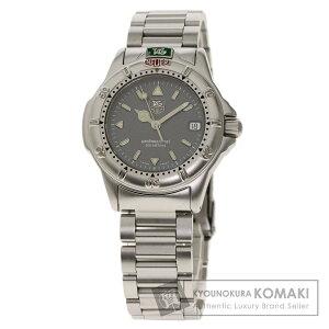 ساعة TAG Heuer WF1211 احترافية من الفولاذ المقاوم للصدأ / SS السيدات [مستعملة] [TAG HEUER]