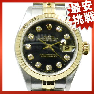ROLEX Oyster Datejust 79173 G SS×18 K at total