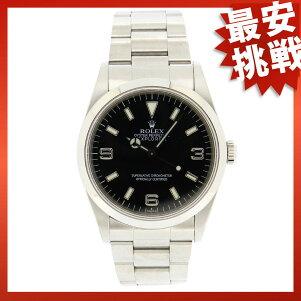 ROLEX【ロレックス】14270オイスターパーペチュアルエクスプローラー1腕時計SSメンズ【中古】【cabcaida】