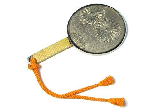 和装に華やぐ上品なアイテム 和鏡 鏡の子 -KIKU-