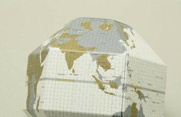 教材 おもしろ教材折りたたみ式地球儀 ポケットの中の地球儀ボヤージュ(TIMEZONE 時差)