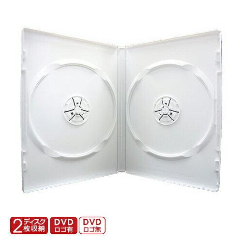 DVD/CD/BDケース>トールケース>2枚収納>白