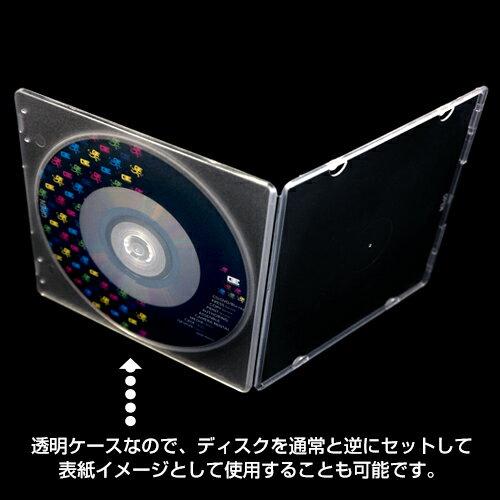 DVD/CD/BDケース>PPケース>TT-005 PPスリムケース1枚収納