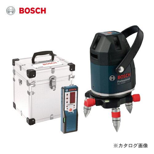ボッシュ BOSCH GLL5-40ELR レーザー墨出し器(アルミ製キャリングケース・受光器付):KanamonoYaSan  KYS