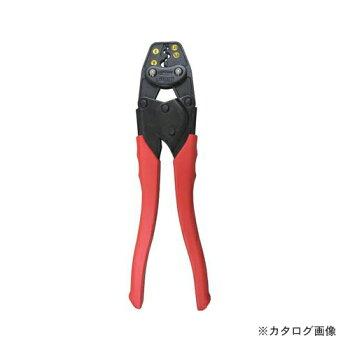 エビ圧着工具銅線用裸圧着端子・裸圧着スリーブ(P.B)用AK15A
