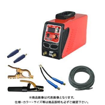 ケーブルセット付日動工業単相200V専用180Aデジタル表示タイプ溶接機BM2-180DA