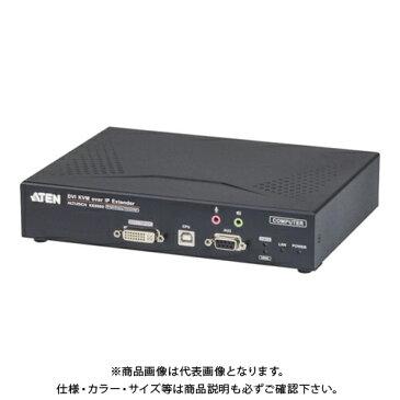 【運賃見積り】 【直送品】 ATEN IP-KVMエクステンダー トランスミッターユニット / DVI KE6900T