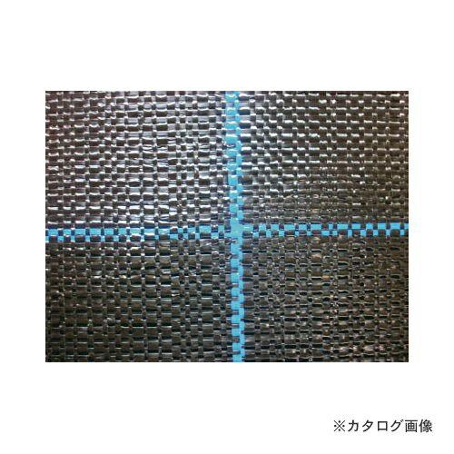 運賃見積り 直送品 ワイドクロス 防草シ-ト BB1515-4X100 ブラック BB1515-4X100:KanamonoYaSan  KYS