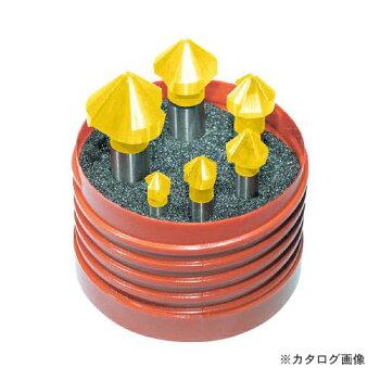 タイテックスチタンコーティングカウンターシンク6本セットZ3711TIN-6.3-20.5