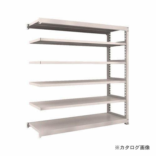 運賃見積り 直送品 TRUSCO M5型中量棚 1800X921XH1800 6段 連結 ネオグレ M5-6696B:NG:KanamonoYaSan  KYS