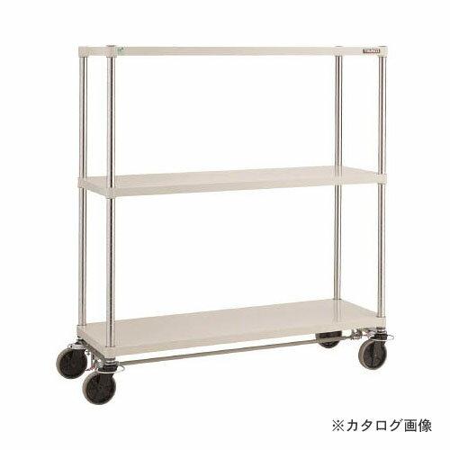 運賃見積り 直送品 TRUSCO フェニックスラック 1800X600 U車輪4輪S付 W色 PER-5663-U125-B4-W:KanamonoYaSan  KYS