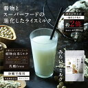 新発売\ 第4のミルク /植物の「スーパーミルク」誕生!スーパーフードの進化したライスミルク...