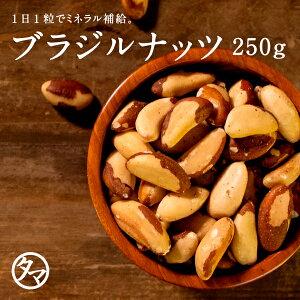 【送料無料】ブラジルナッツ250gまるでバターのような濃厚な味わいを楽しむことができるアマゾン川流域だけで収穫される稀少なナッツ SNUTS